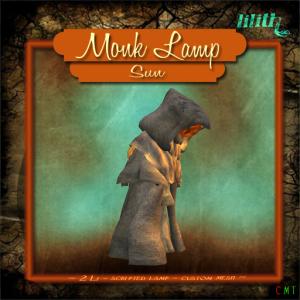 LD Monk Lamp - Sun